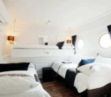 Magnifique II twin cabin with third bed lower deck