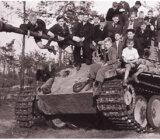 WWII Overloon Tank