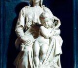 Madonna statue in Bruges